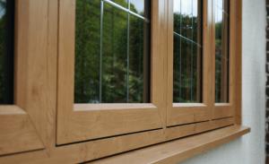 Timberlook flush sash window