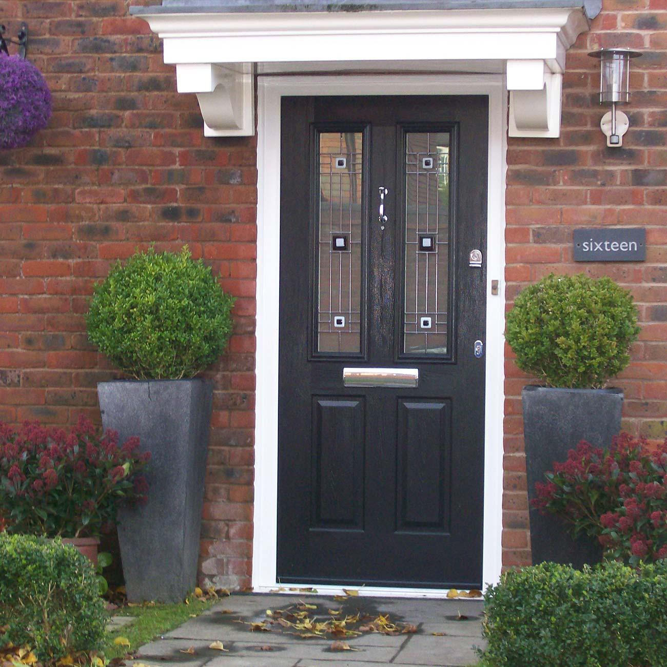 Solidor black composite door