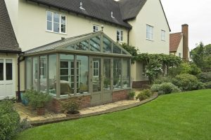 Green gable conservatory